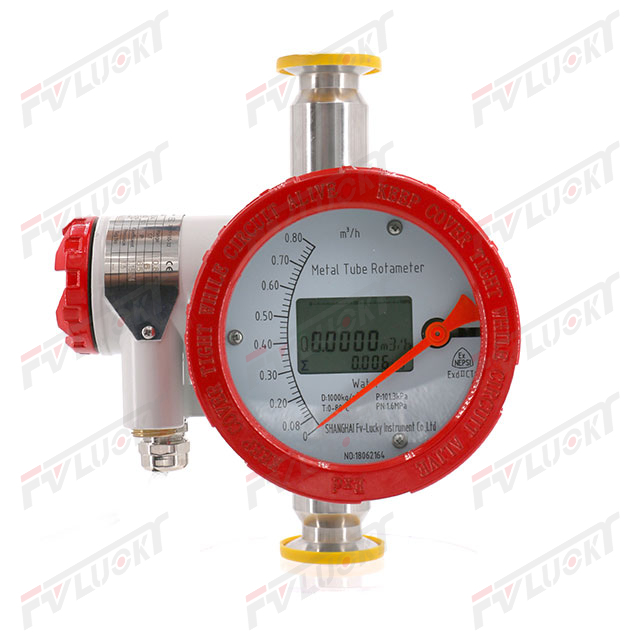 Clamp type - metal float flowmeter